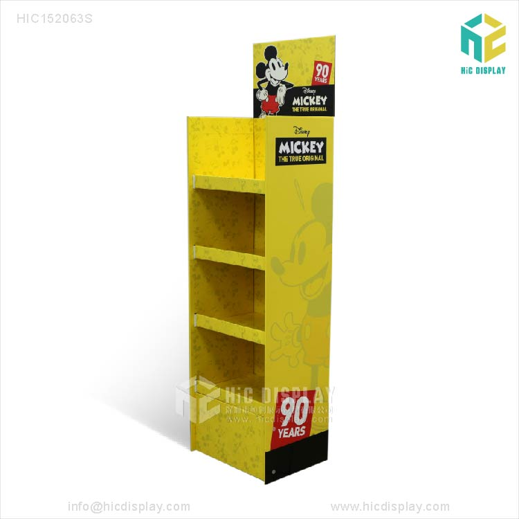 Custom Paper material toys custom cardboard display stand for promotion,cardboard display for toys