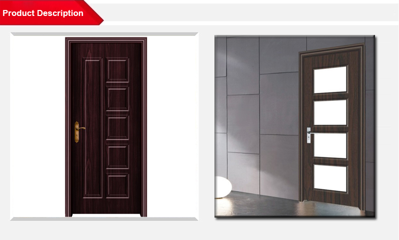 Mordern Pvc Door And Frame, View pvc door and frame, Easyway Product ...
