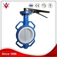 hot selling screw wafers end type dn300 butterfly valves