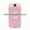 Pink dream bow print hard protective case for samsung galaxy note 3
