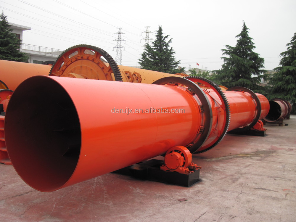Kaolin and bentonite clay rotary dryer machine manufacturer in China