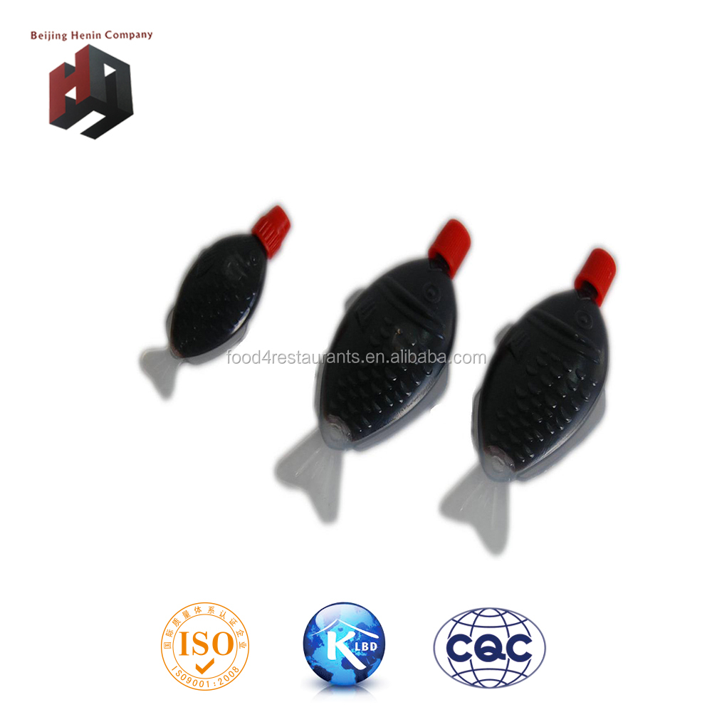 small pack fish shape dark soy sauce
