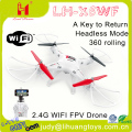 LH-X6WF Wholesale quadcopter kids toy FPV 2.4G 6 Axis Gyro WIFI RC drone with camera made in China