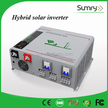 high quality off grid pure sine wave hybrid solar power inverter 12v 220v 1000w with MPPT solar controller