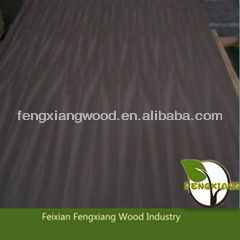 Cheap 6mm black walnut veneer plywood for decoration