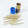 Color Tube Packing Color Pencil Set With Sharpener