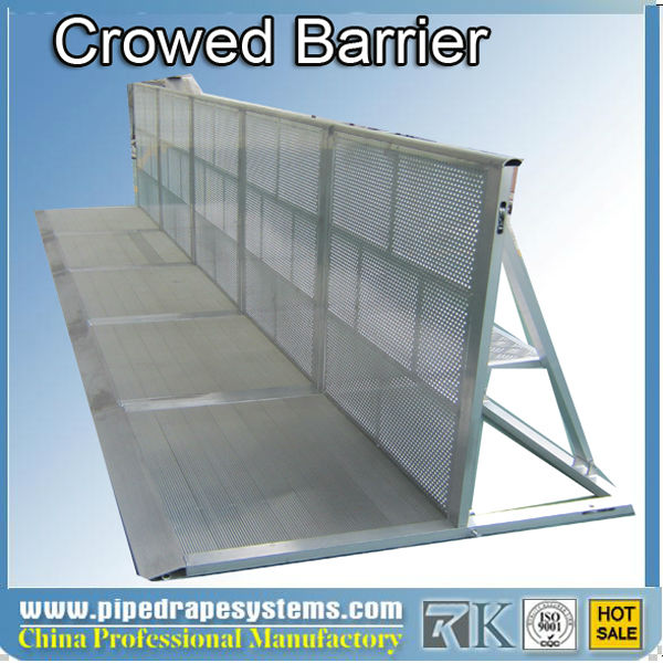 RK concrete crash barrier