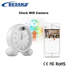 Wholesale Better security hidden wireless DVR monitor wall clock spy camera 960p mini ip clock camera for home