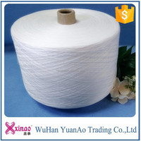 import cheap goods from china all counts spun polyester yarn