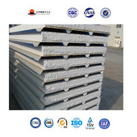 Factory Supply 75mm Corrugated Insulated eps Sandwich Metal Roof Panel