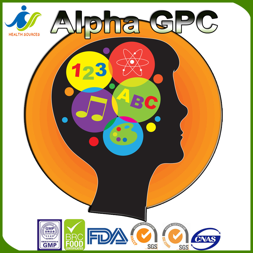 Alpha GPC 90%, 50% Memory, Learning, Focus, Brain Health, Mood supplement