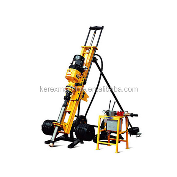 Electric mini drilling rig HQD100