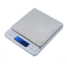 2000g/0.1g Mini Digital Scale Portable Electronic Scale Pocket Weighing Platform Jewelry Balance Counting Precisione Balance