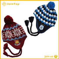 warm hand crochet ear warmer knitted hat
