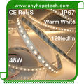 High power CRI90 warm white 4200LM led light strip wholesale