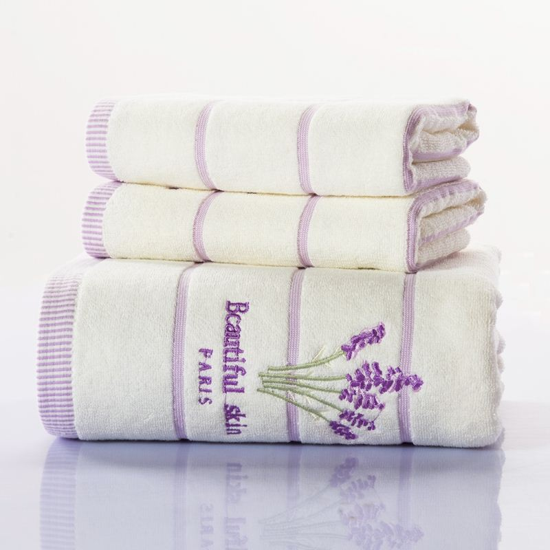 100% Cotton Soft Bath Towel 70140cm,3575cm Bath Face Towel Set Hot Bathroom Accessories