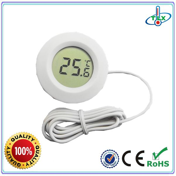 TL8038 Small Temperature Measuring Digital Water Proof Probe Aquarium Thermometer