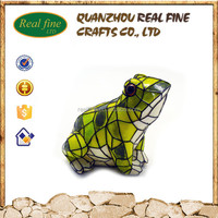 cabochon resin kawaii garden Frog decoration