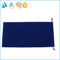 senhan wholesale cheap velvet luxury gift bags with logo