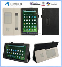 Multifunctional Case for New Kindle Fire 10 (2015 Model) - Tablet Cover with Built in Stand, Hand Strap, & Stylus Holde