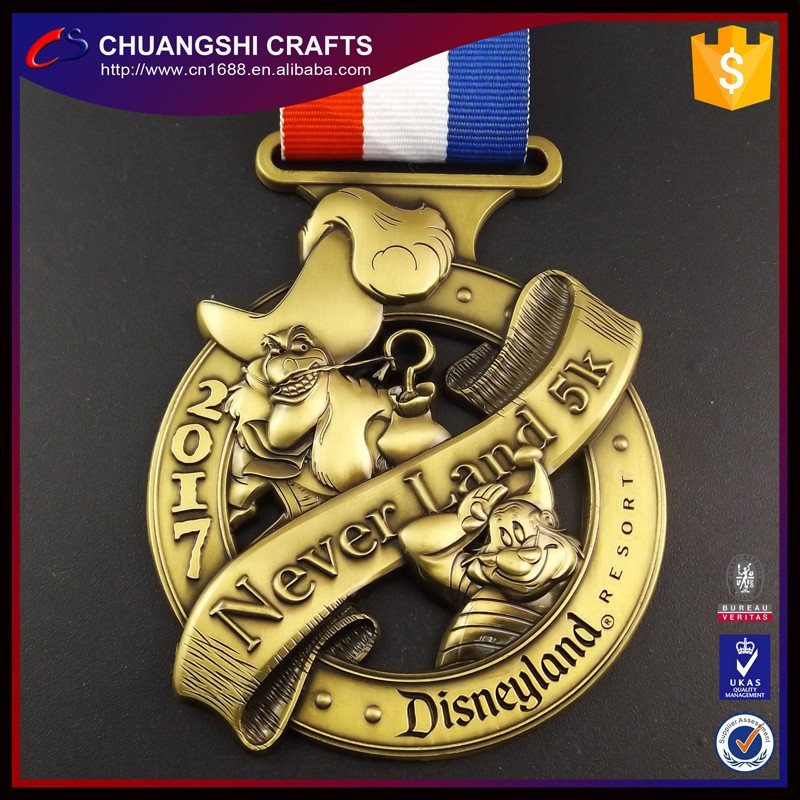 2017 custom medals no minimum order