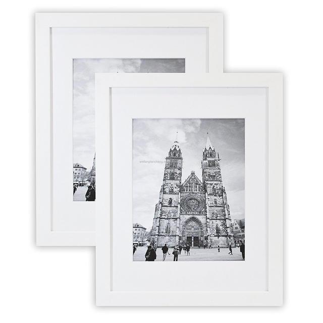 Custom cardboard / paper 4x6 photo frames wood 3d effect