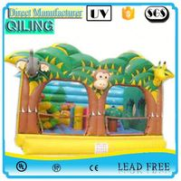 2017qiling new stylish chanllenge sport top quality inflatable theme bouncer balloon