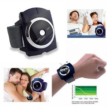 2018 New Smart Sleep Apnea Machine New Invention Anti Snore Prevent Snoring Stopper Watch Wristband Device Sleeping Aid