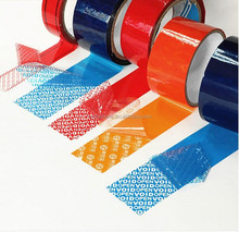 custom tamper evident adhesive security tape,VOID anti-counterfeit tape