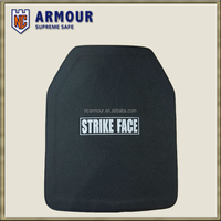 NIJ IV Hard armor Ceramic Stand Alone Bullet proof plate