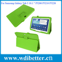 New Hot Items Gifts For Android Tablet Litchi Leather Case For Samsung Galaxy Tab 3 10.1 P5200