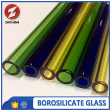 pyrex colored borosilicate glass tube 3.3