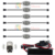 10 Pods RGB Accent LED Light Kit Glow Neon Remote Multi-color for Truck Car Motorcycle LED Rock Light kit