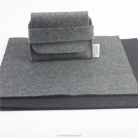 Hot sale 8mm thickness 100% grey wool felt