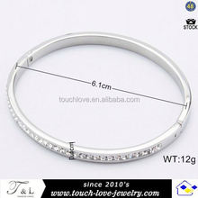 New arrival chic stainless steel basketball wives beads bracelet