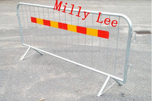 Help direct pedestrians and keep control of crowds Control Barricades/all-welded steel barriers