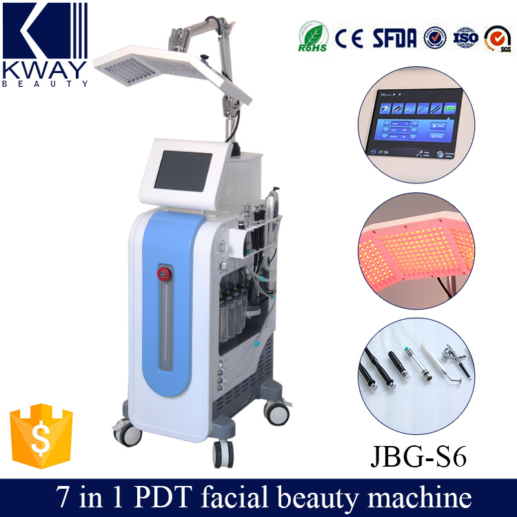 Safety and healthy proactive PDT Oxygen jet peel and facial skin care Beauty machine with CE certificate