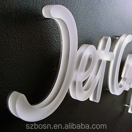 High Quality Customized Backlit Led Acrylic Letters For Sale