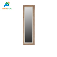fully stocked wooden craft large frame mirrors for walls