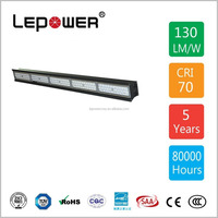 CE TUV SAA UL 60W 100W 150W 200W 250W LED Linear high bay light IP66 Meanwell driver