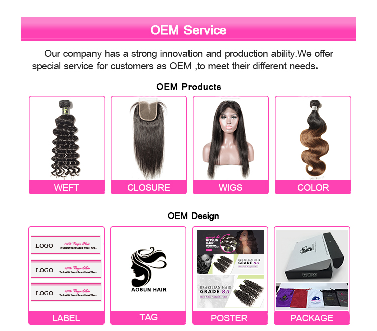 Asoun Factory Direct Wholesale Top Grade 10A Brazilian Straight Cuticle Aligned Virgin Hair