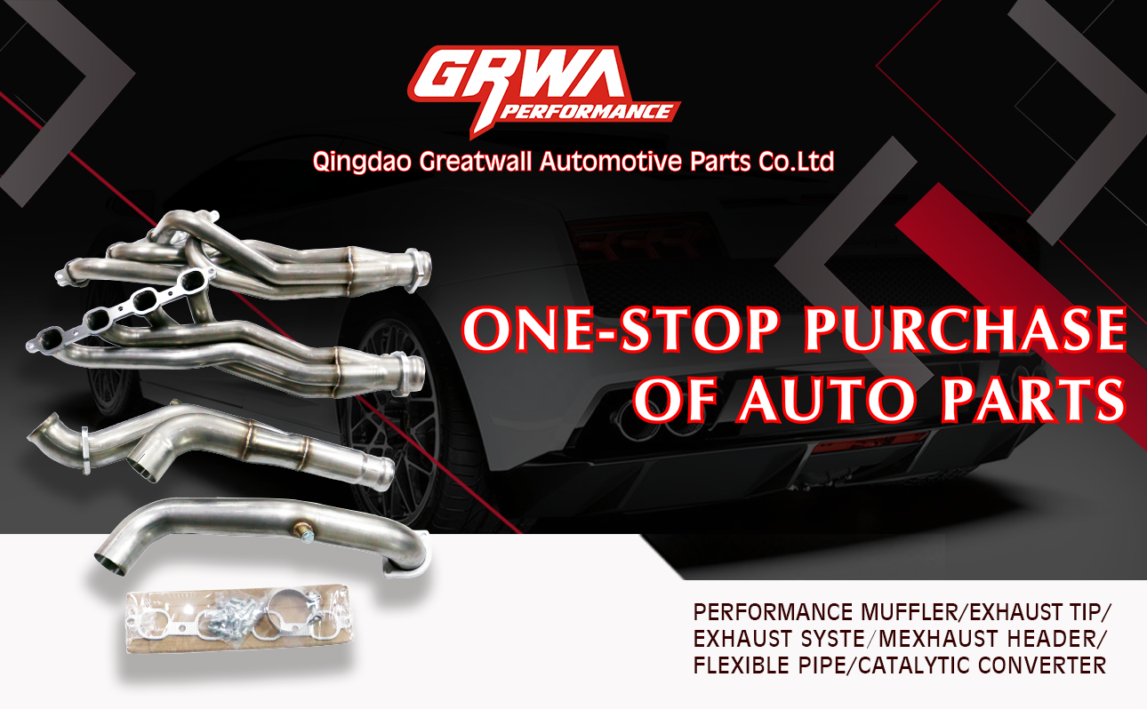 Grwa Perform Exhaust Manifold Headers For Chevy Small Block