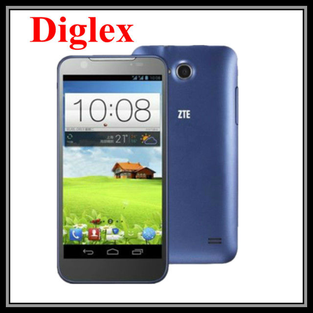 Wholesale Hot selling smart phone ZTE V956 Quad Core 1.2GHz Android Phone 4.5 Inch IPS Screen 5.0MP Dual Sim Card