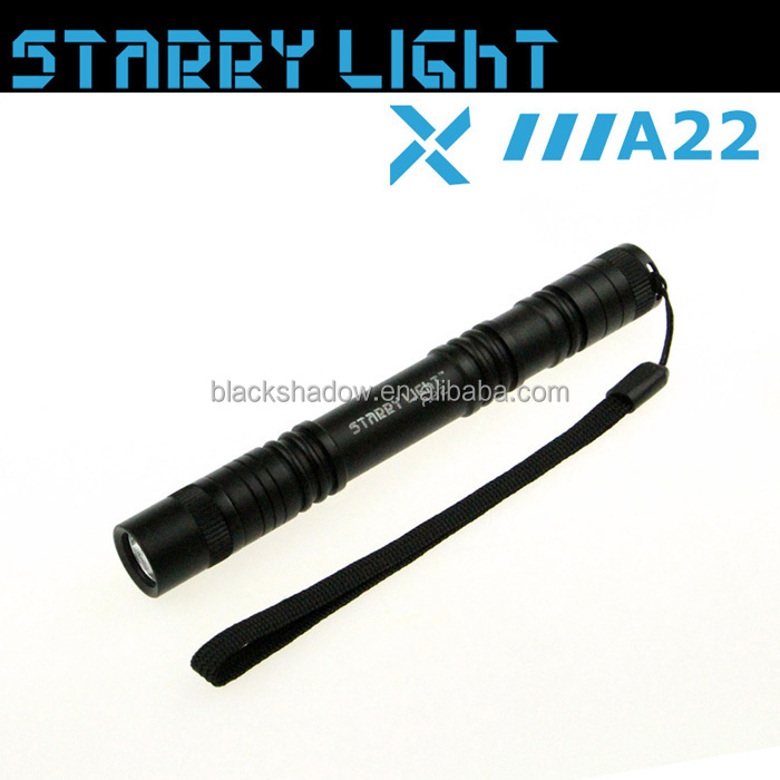 StarryLight A22 pen torch 2AA dry battery led flash light torch
