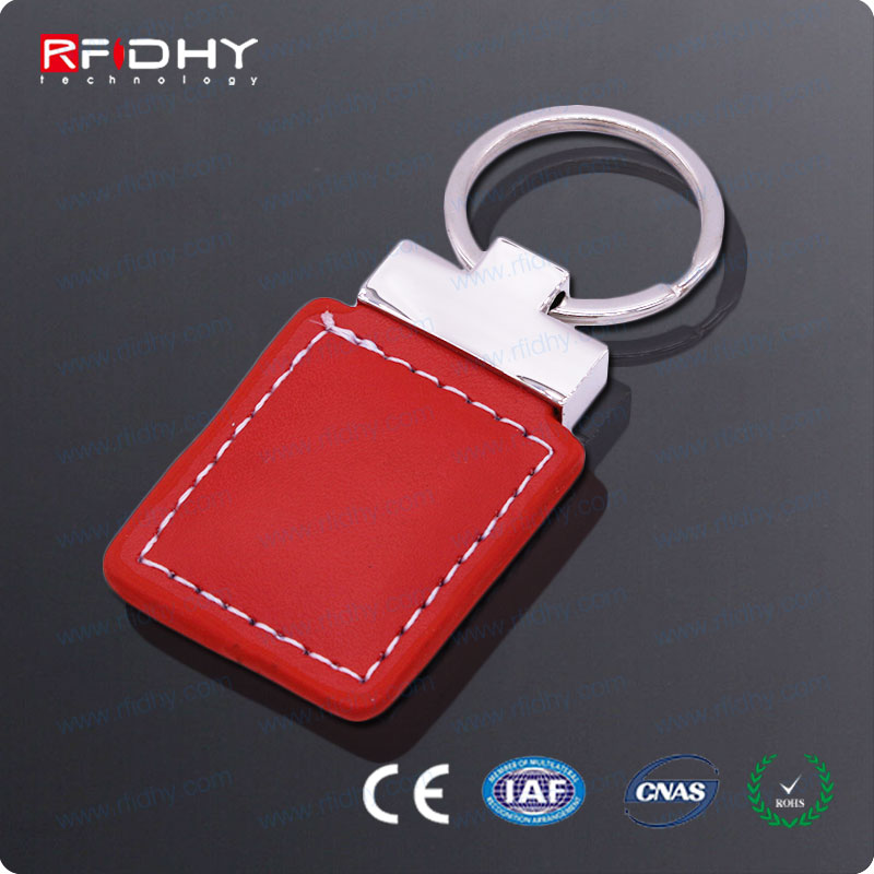 Customized 125 KHz Leather RFID Key Fob