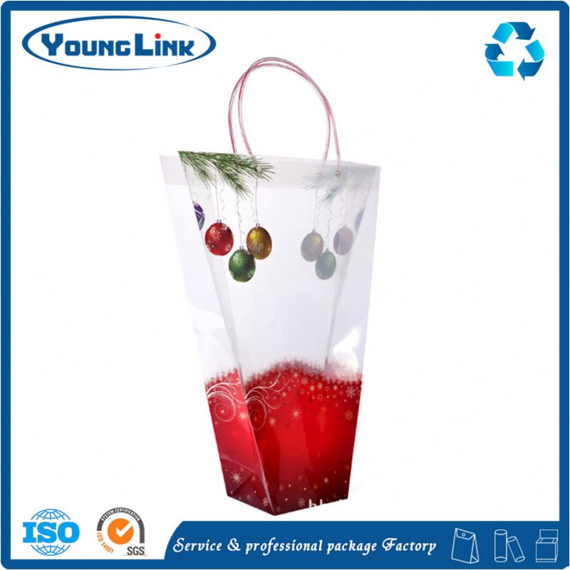 eco-friendly and recycled clear plastic bags