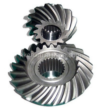 High precision steel hypoid gear,bevel gear assembly manufacturer