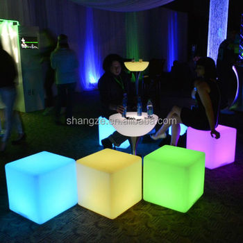 Waterproof LED Light Cube 16""