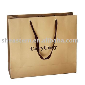 Attractive paper shopping bag.Paper handle bag.Gift papershopping bags