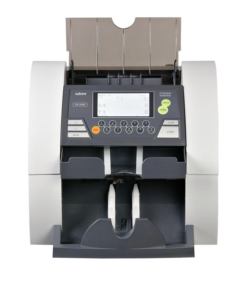 SB-2000 Currency discrimination counter/fitness sorter